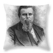 Charles Crocker (1822-1888) Throw Pillow by Granger