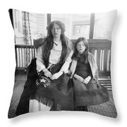 Charlotte Collyer Throw Pillow by Granger