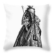 Charlotte Sophia (1744-1818) Throw Pillow by Granger