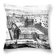 Chateau De Vincennes Throw Pillow by Granger