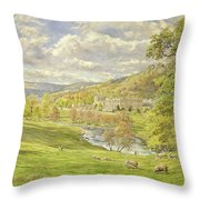 Chatsworth Throw Pillow by Tim Scott Bolton