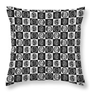 Chess Board Throw Pillow by Sumit Mehndiratta