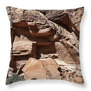 Chip Off The Block Throw Pillow by Kelley King