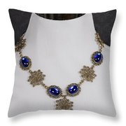 Chocker Throw Pillow by Joana Kruse