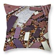 Chocolate Throw Pillow by Joana Kruse