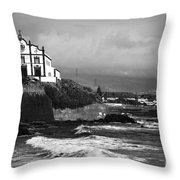 Church by the sea Throw Pillow by Gaspar Avila