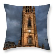 Church Of Our Lady - Liverpool Throw Pillow by Yhun Suarez
