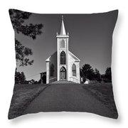 Church St Teresas of Avila  Throw Pillow by Garry Gay