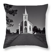 Church St Teresas Of Avila  Throw Pillow by Garry Gay