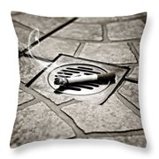 Cigarette Throw Pillow by Joana Kruse