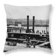 Civil War: Chickamauga Throw Pillow by Granger