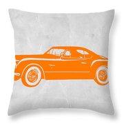 Classic Car 2 Throw Pillow by Naxart Studio
