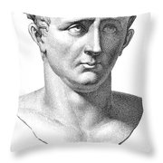 Claudius I (10 B.c.-54 A.d.) Throw Pillow by Granger
