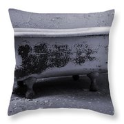 Cleanse Throw Pillow by Luke Moore