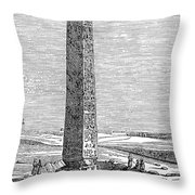 CLEOPATRAS NEEDLE Throw Pillow by Granger