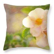 Closeness Throw Pillow by Jenny Rainbow