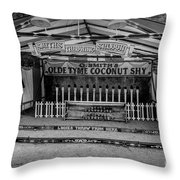 Coconut Shy 2 Throw Pillow by Adrian Evans