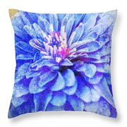 Color Symphony II Throw Pillow by Brett Pfister