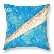 Comet Throw Pillow by Science Source