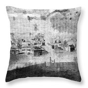 Concord, 1776 Throw Pillow by Granger