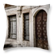 Concubine  Court Throw Pillow by Joan Carroll