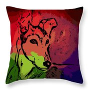 Contemplation Throw Pillow by George Pedro