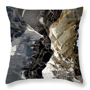 Corrosion By Nature Throw Pillow by Kaye Menner