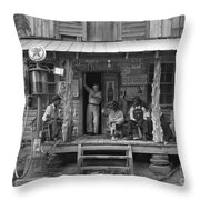 Country Store, 1939 Throw Pillow by Granger