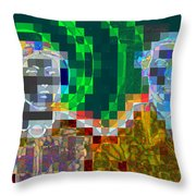 Couple Throw Pillow by Randall Weidner
