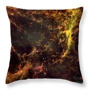 Crab Nebula Throw Pillow by NASA