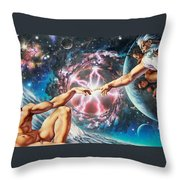 Creation Throw Pillow by Adrian Chesterman