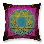 Creative Power 2012 Throw Pillow by Kathryn Strick