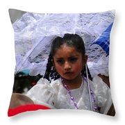 Cuenca Kids 51 Throw Pillow by Al Bourassa