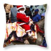 Cuenca Kids 52 Throw Pillow by Al Bourassa