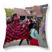 Cuenca Kids 59 Throw Pillow by Al Bourassa
