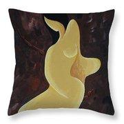 Curves Throw Pillow by Vilas Malankar