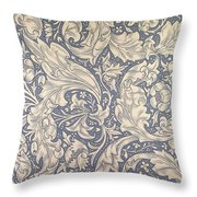 Daisy Design Throw Pillow by William Morris
