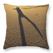 Dancing Fool Throw Pillow by Mike McGlothlen