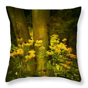 Dancing In A Ring Throw Pillow by Svetlana Sewell