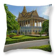 Dancing Pavilion Throw Pillow by David Freuthal