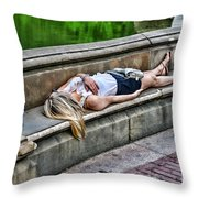 Dead On Arrival  Or  Doa Throw Pillow by Paul Ward
