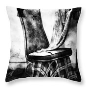 Death Of A Songbird  Throw Pillow by Jerry Cordeiro