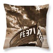 Denise Throw Pillow by Meirion Matthias