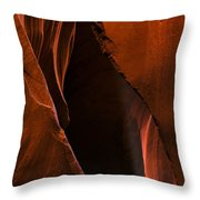 Desert Beam Throw Pillow by Mike  Dawson