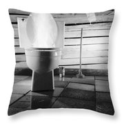 Deviant Throw Pillow by Gabe Arroyo