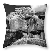 Devil's Den - 39 Throw Pillow by Paul W Faust -  Impressions of Light