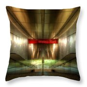 Digital Underground Throw Pillow by Yhun Suarez