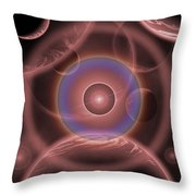 Dimensional Doorway Of The Universe Throw Pillow by Mark Stevenson
