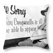 Disappointed Boy, 1957 Throw Pillow by Granger