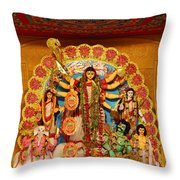 Divinity No.8926 Throw Pillow by Fotosas Photography